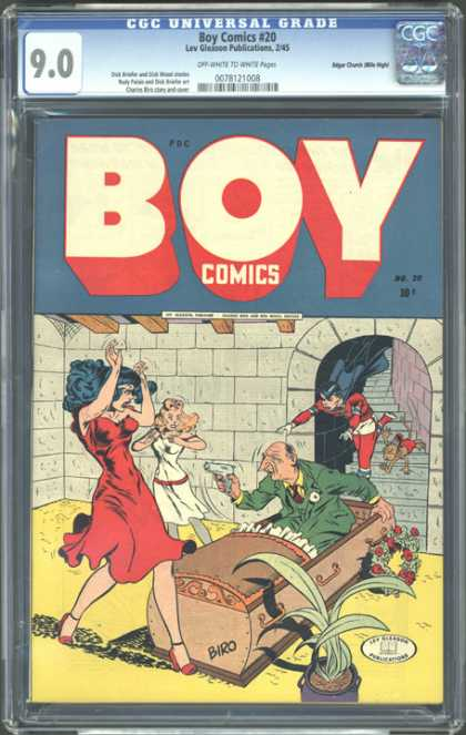 CGC Graded Comics - Boy Comics #20 (CGC)