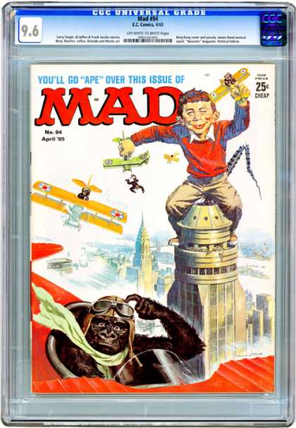 CGC Graded Comics - Mad #94 (CGC)