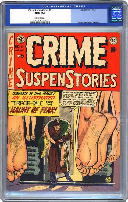 CGC Graded Comics - Crime SuspenStories #11 (CGC)