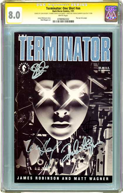 CGC Graded Comics - Terminator One Shot #nn (CGC)