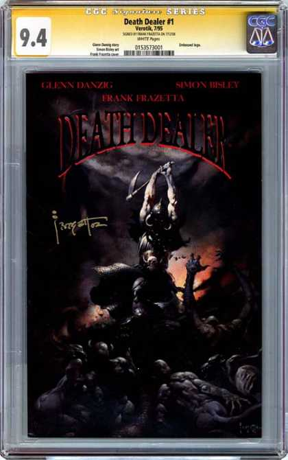 CGC Graded Comics - Death Dealer #1 (CGC)