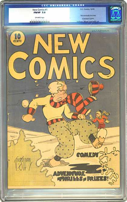 CGC Graded Comics - New Comics #1 (CGC)