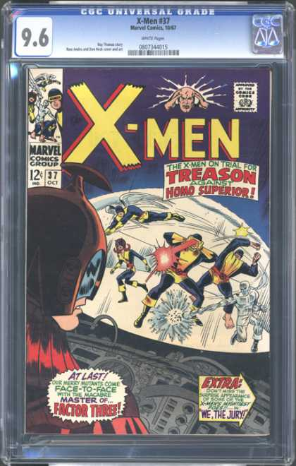 CGC Graded Comics - X-Men #37 (CGC)