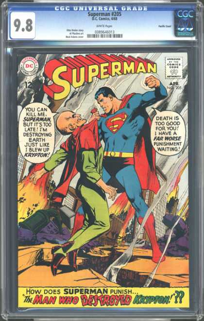 CGC Graded Comics - Superman #205 (CGC)