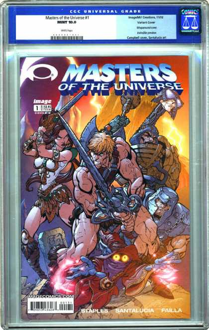 CGC Graded Comics - Masters of the Universe #1 (CGC)