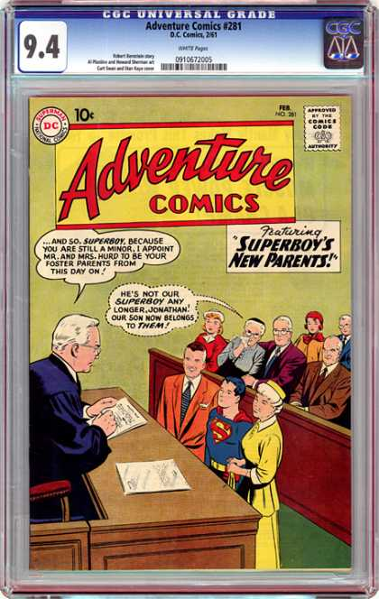 CGC Graded Comics - Adventure Comics #281 (CGC)