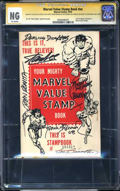 CGC Graded Comics - Marvel Value Stamp Book #nn (CGC)