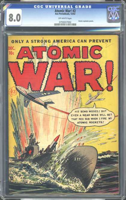 CGC Graded Comics - Atomic War! #2 (CGC)
