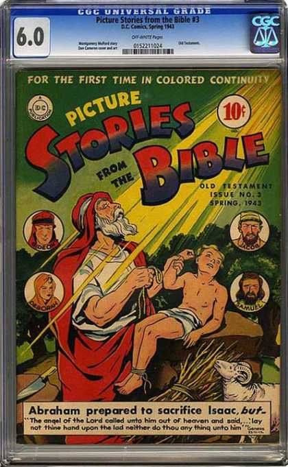 CGC Graded Comics - Picture Stories from the Bible #3 (CGC) - Casdfcasd - Fcascqewv - Asfvasdcfewcq - Asdcffqcq - Ercqwercq