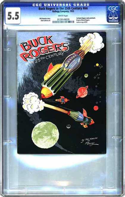 CGC Graded Comics - Buck Rogers in the 25th Century #nn (CGC)