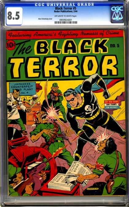CGC Graded Comics - Black Terror #5 (CGC)
