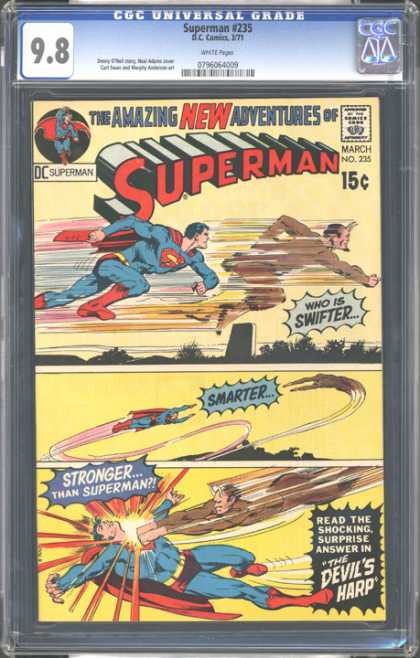 CGC Graded Comics - Superman #235 (CGC)
