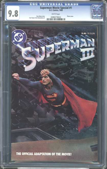 CGC Graded Comics - Superman Movie Special #1 (CGC) - Richard Pryor - Christopher Reeve - Computer - Technology - Adaptation