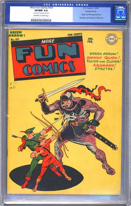 CGC Graded Comics - More Fun Comics #101 (CGC)