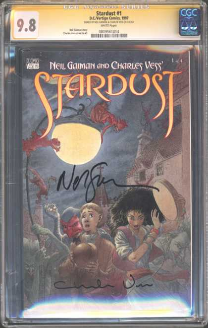 CGC Graded Comics - Stardust #1 (CGC)