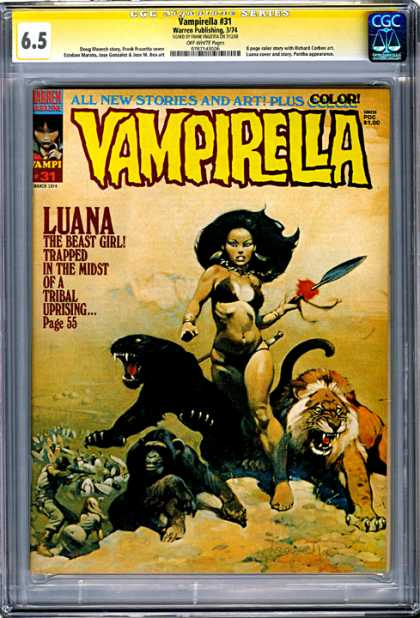 CGC Graded Comics - Vampirella #31 (CGC)