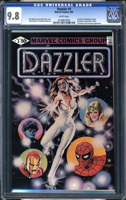 CGC Graded Comics - Dazzler #1 (CGC)
