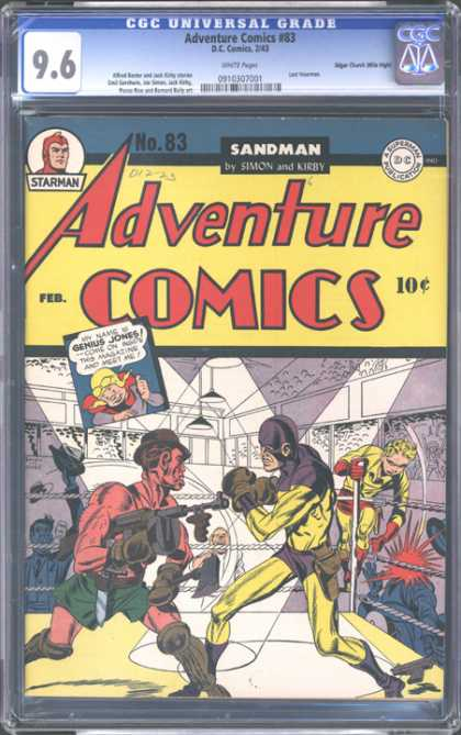 CGC Graded Comics - Adventure comics #83 (CGC)