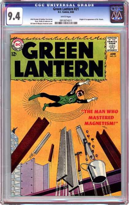 CGC Graded Comics - Green Lantern #21 (CGC)