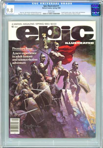 CGC Graded Comics - Epic Illustrated #1 (CGC)