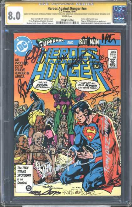 CGC Graded Comics - Heroes Against Hunger #nn (CGC)