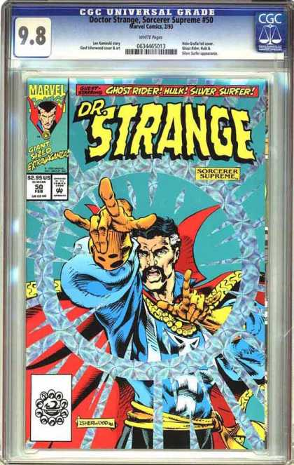 CGC Graded Comics - Doctor Strange, Sorcerer Supreme #50 (CGC)
