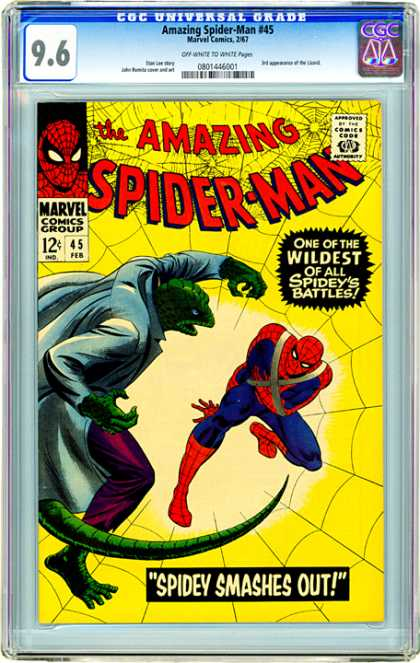 CGC Graded Comics - Amazing Spider-Man #45 (CGC)