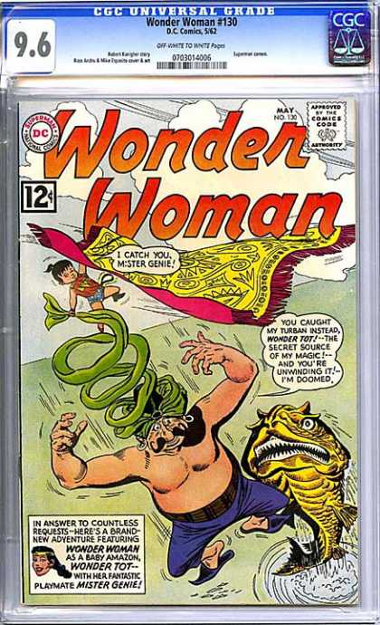 CGC Graded Comics - Wonder Woman #130 (CGC)