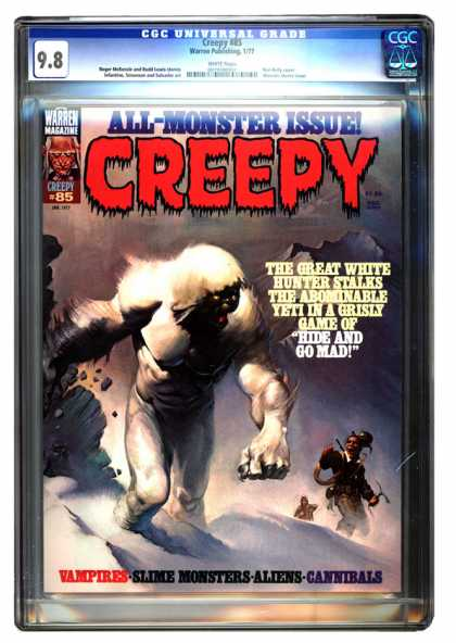 CGC Graded Comics - Creepy #85 (CGC)