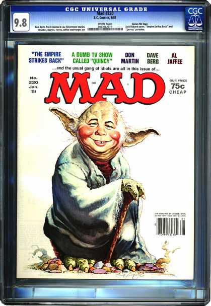 CGC Graded Comics - Mad #220 (CGC)
