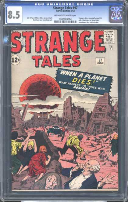 CGC Graded Comics - Strange Tales #97 (CGC) - Science Fiction - Space - Eerie - Astronomy - Apocalyspse