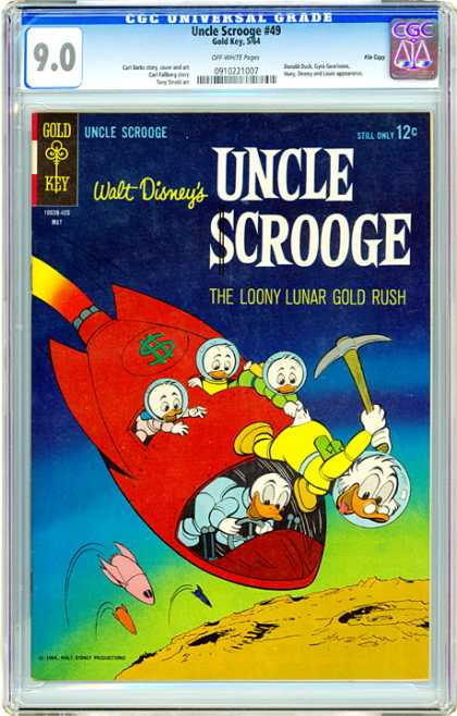 CGC Graded Comics - Uncle Scrooge #49 (CGC)
