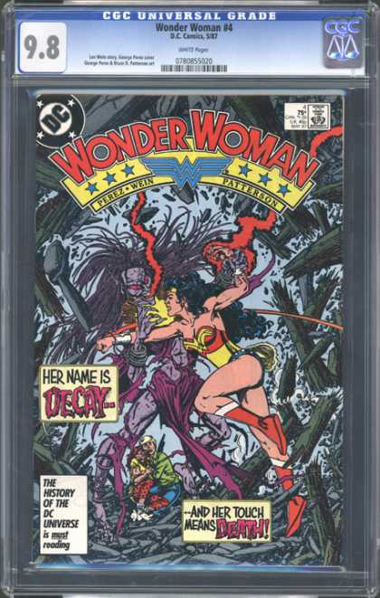 CGC Graded Comics - Wonder Woman #4 (CGC)