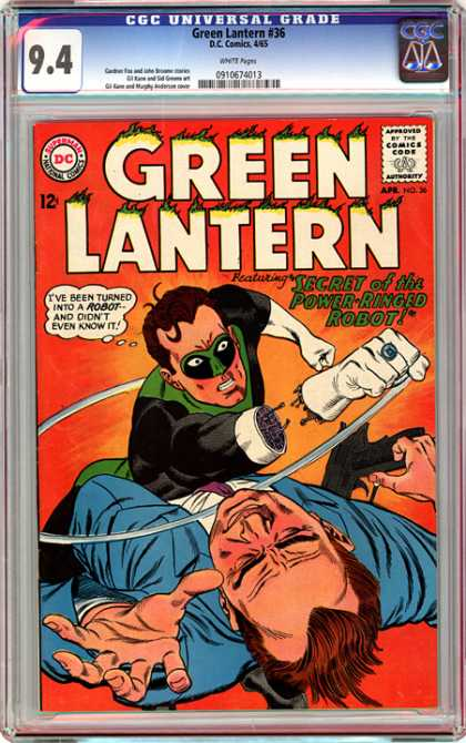 CGC Graded Comics - Green Lantern #36 (CGC)