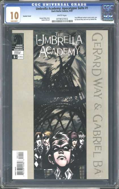 CGC Graded Comics - Umbrella Academy: Apocalypse Suite #1 (CGC) - Cgc Universal Grade - The Umbrella - Academy - Gerard Way - Gabriel Ba