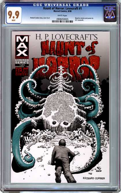 CGC Graded Comics - Haunt of Horror: Lovecraft #1 (CGC)