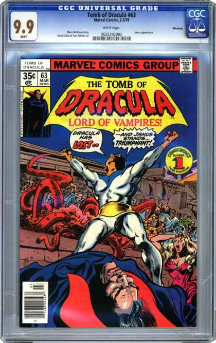 CGC Graded Comics - Tomb of Dracula #63 (CGC)