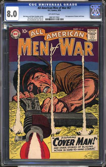 CGC Graded Comics - All-American Men of War #67 (CGC)