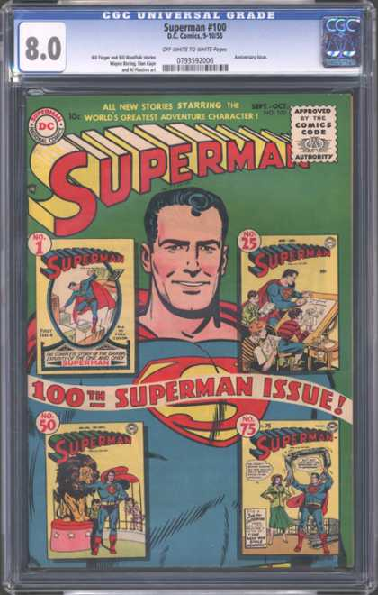 CGC Graded Comics - Superman #100 (CGC)