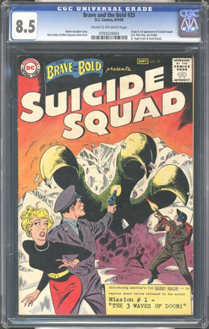 CGC Graded Comics - Brave and the Bold #25 (CGC)