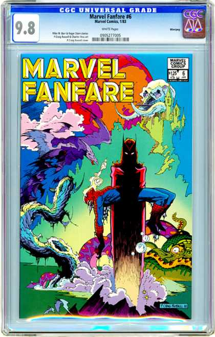 CGC Graded Comics - Marvel Fanfare #6 (CGC)