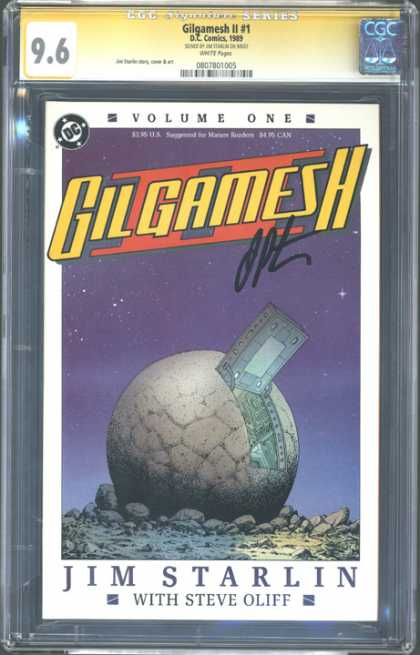 CGC Graded Comics - Gilgamesh II #1 (CGC)