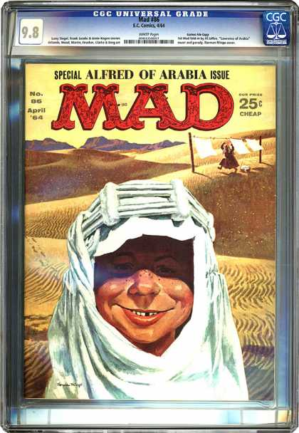 CGC Graded Comics - Mad #86 (CGC)