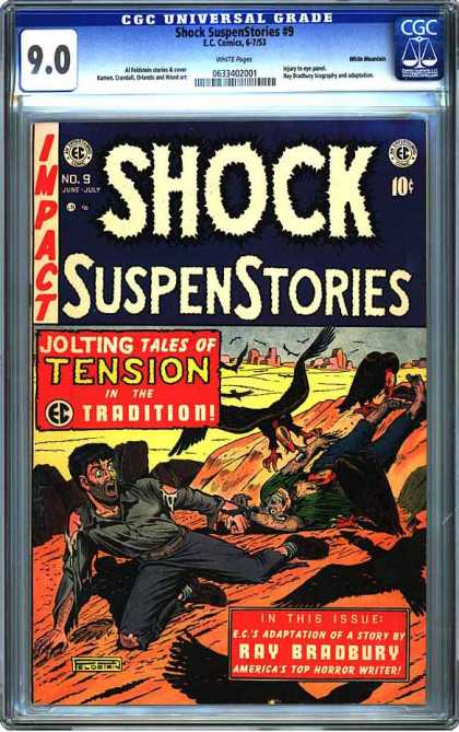 CGC Graded Comics - Shock SuspenStories #9 (CGC)