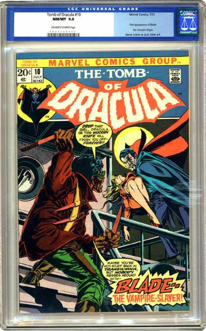 CGC Graded Comics - Tomb of Dracula #10 (CGC)