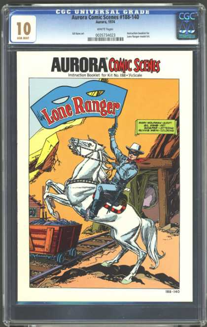CGC Graded Comics - Aurora Comic Scenes #188-140 (CGC)