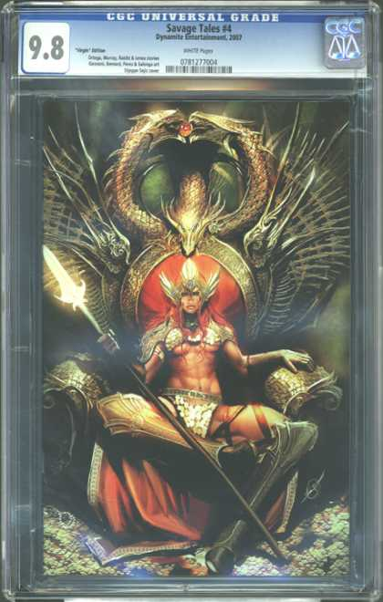 CGC Graded Comics - Savage Tales #4 (CGC) - Savage Tales 4 - I Am The Ruler Of The World - What A Stud - The Supreme Power - Blade Of Light