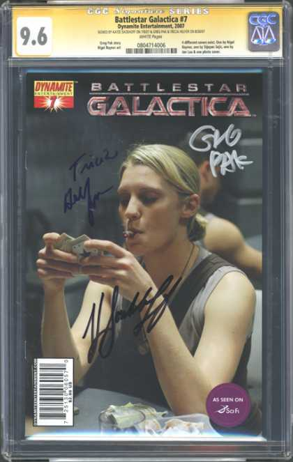 CGC Graded Comics - Battlestar Galactica #7 (CGC)