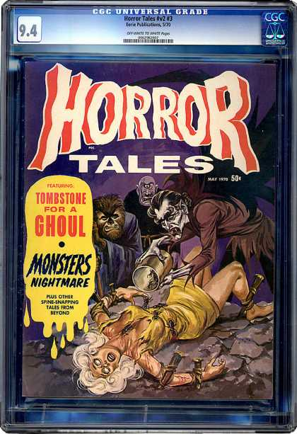 CGC Graded Comics - Horror Tales #v2 #3 (CGC)