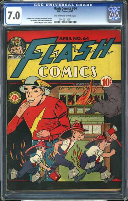 CGC Graded Comics - Flash Comics #64 (CGC)